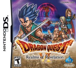 Dragon Quest VI Realms of Revelation - jaquette DS US