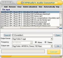 EXPSTUDIO'S AUDIO CONVERTER