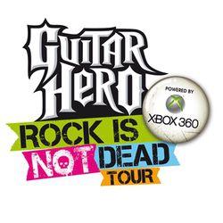 Logo Guitar Hero Rock is not dead