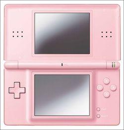 Nintendo DS lite pink 1