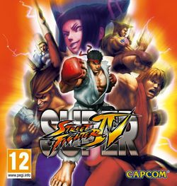 Super Street Fighter IV - pochette