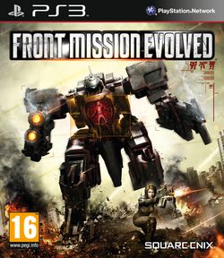 Front Mission Evolved - Jaquette PS3