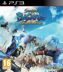 Sengoku Basara 3 Samurai Heroes - jaquette PS3