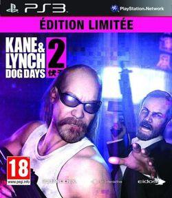 Kane & Lynch Dog Days Edition Limitée - jaquette PS3