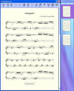 PDFtoMusic screen 1