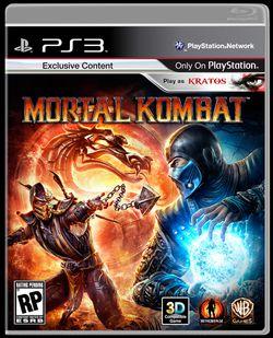 Mortal Kombat - jaquette PS3 US