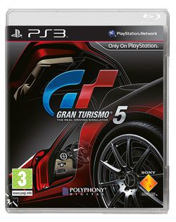 Gran Turismo 5 - Jaquette