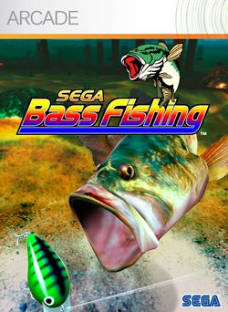 Sega Bass Fishing - jaquette Arcade