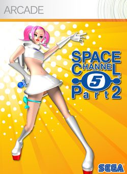 Space Channel 5 Part 2 - jaquette Arcade