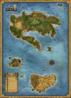 Two Worlds II - Carte