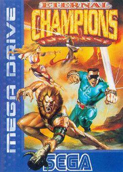 Eternal Champions Megadrive - jaquette