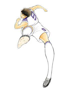 Captain Tsubasa New Kick Off DS - Artwork Hyuga