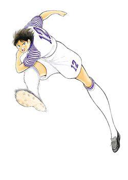 Captain Tsubasa New Kick Off DS - Artwork Matsuyama