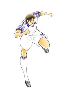 Captain Tsubasa New Kick Off DS - Artwork Misugi
