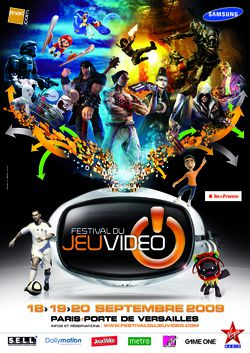 Festival jeu vidéo affiche 2009
