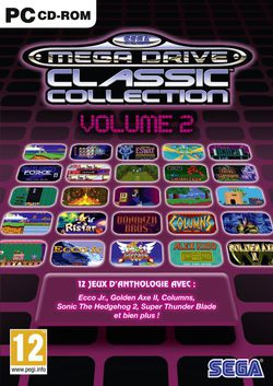 SEGA Mega Drive Classic Collection Vol.2 - jaquette PC