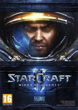 StarCraft 2 : Wings of Liberty - pochette