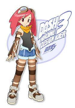Mega Man Legends 3 concours - Shinsuke Komaki