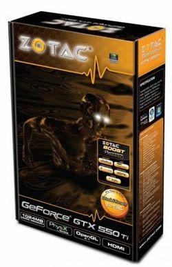 Zotac GeForce GTX 550 Ti 2