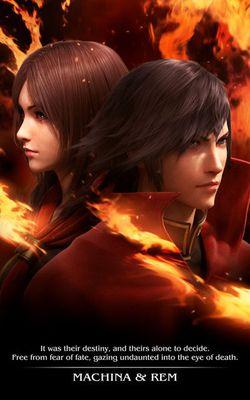 Final Fantasy Type-0 - Machina & Rem