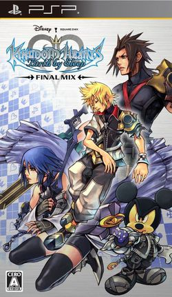 Kingdom Hearts Birth by Sleep Final Mix - jaquette PSP