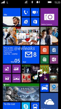 Nokia Bandit ecran accueil