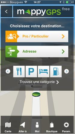 Mappy GPS