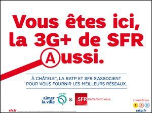 SFR RATP 3G
