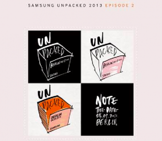 Samsung ifa invitation