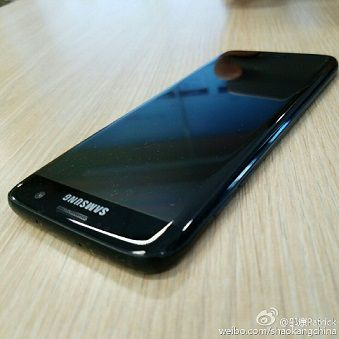 Samsung Galaxy S7 Edge noir brillant 02
