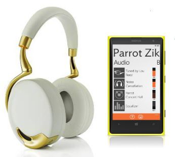 Parrot Audio Suite Windows Phone