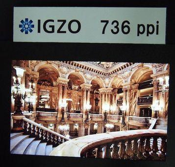 Sharp IGZO 736 ppi