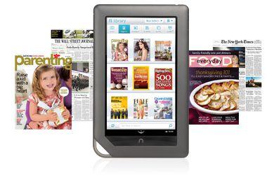 NookColor newsstand