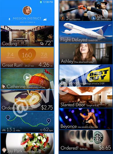 Samsung interface smartphone