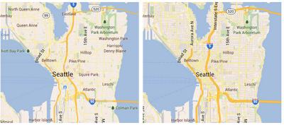 Google Maps Android 65 carto