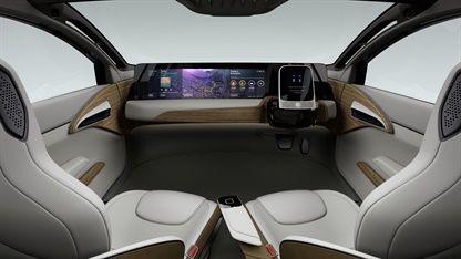 Nissan IDS Concept habitacle