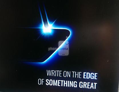 Samsung Galaxy Note 7 Edge teaser