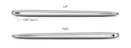 MacBook Air USB Type C
