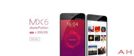 Meizu MX6 Ubuntu Edition