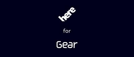 Nokia Here Samsung Gear