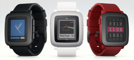 Pebble Time coloris