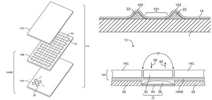 Apple brevet texture