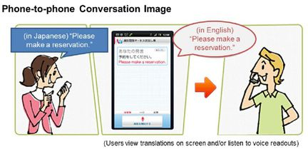 NTT DoCoMo traduction automatique 01