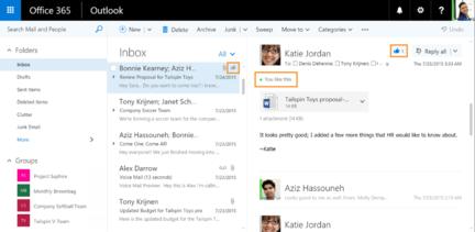 Outlook-Web-likes