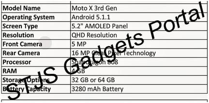 Moto X 3Gen