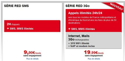 SFR Serie RED