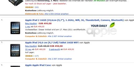 iPad 2 specs amazon