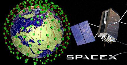 Space X micro satellites