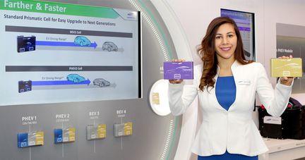 Samsung SDI batterie électrique