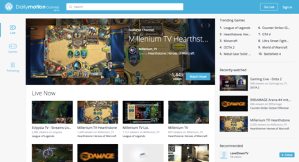 Dailymotion-Games-page-accueil